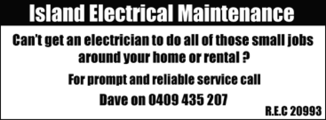 Island Electrical Maintenance