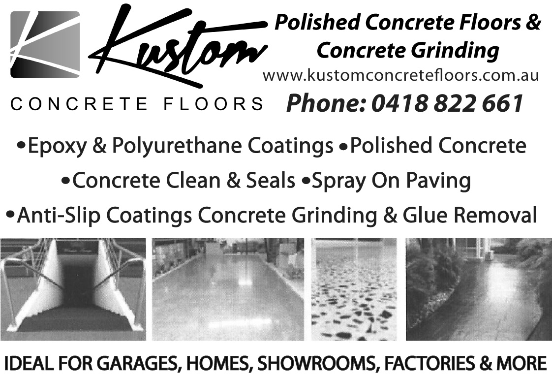 Kustom Concrete Flooring